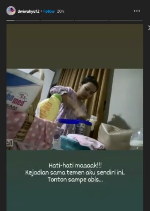 Viral Video ART Ludahi Susu Bayi